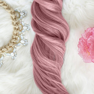 Colored hair clips