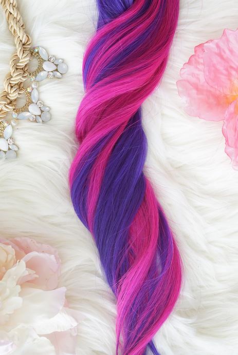 Colorful Hair Extensions Unicorn Hair Extensions Human Hair